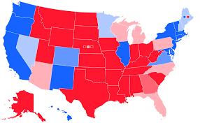 da visualization and population map makes US seem redder